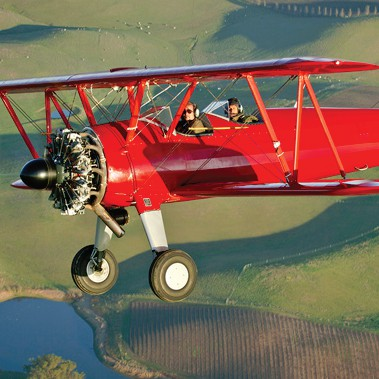 Take Flight in a Vintage Biplane