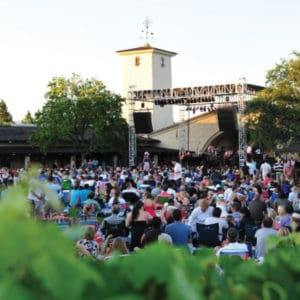 Attend a Concert at a Winery