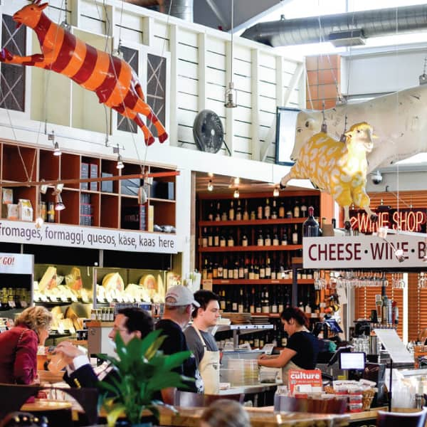 Graze Through Oxbow Market