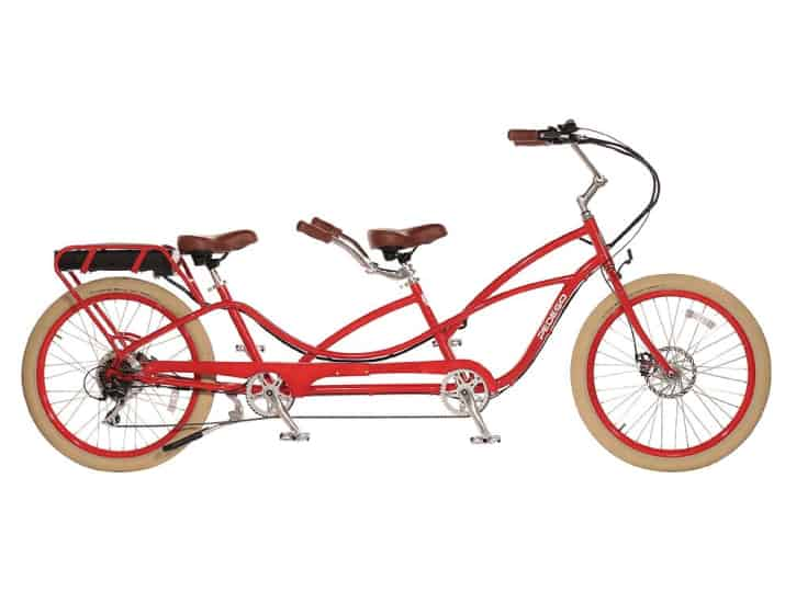 Pedego Electric Tandem Cruiser Bike