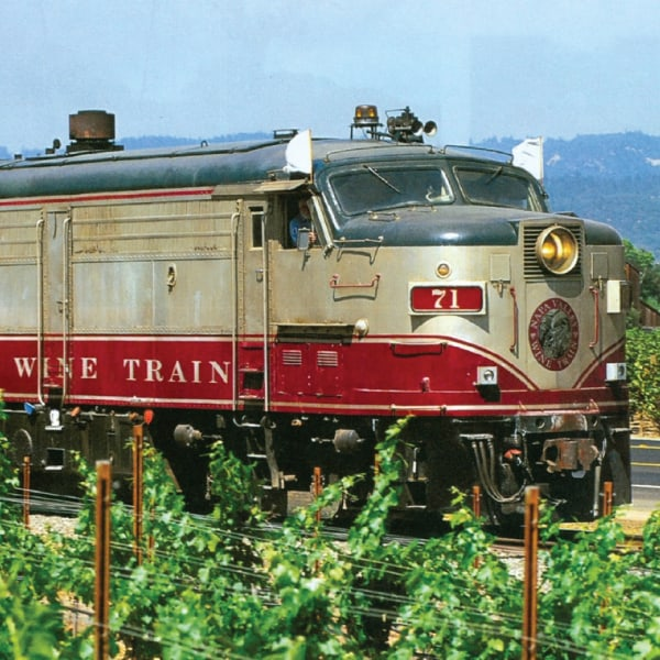 Ride the Napa Wine Train