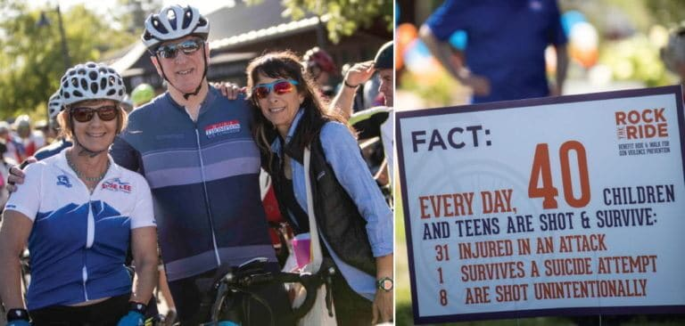 Rock the Ride Napa Valley Cycling Event