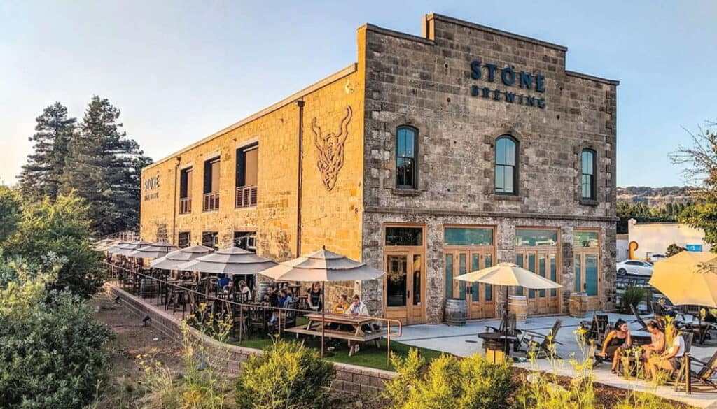 Stone Brewing Downtown Napa